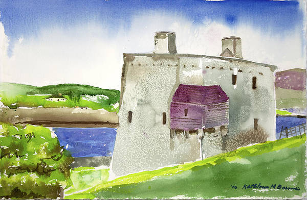 Castle From The Hill Art Print