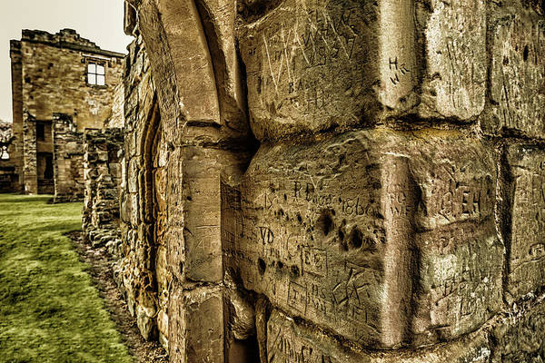 Photograph - Castle Graffiti by Nick Bywater