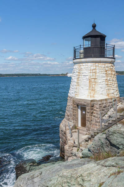 Photograph - Castle Hill Lighthouse Newport Rhode Island by Brian MacLean