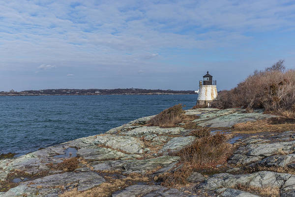Photograph - Castle Hill Lighthouse On Narragansett Bay by Brian MacLean