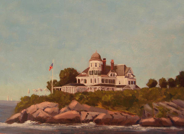 Newport Ri Wall Art - Painting - Castle Hill Newport Ri by Betty Ann Morris