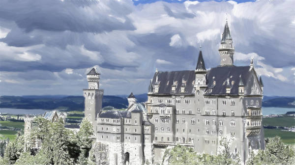 Lurksart Painting - Castle - Id 16218-130627-1895 by S Lurk