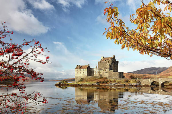 Photograph - Castle In Autumn by Grant Glendinning