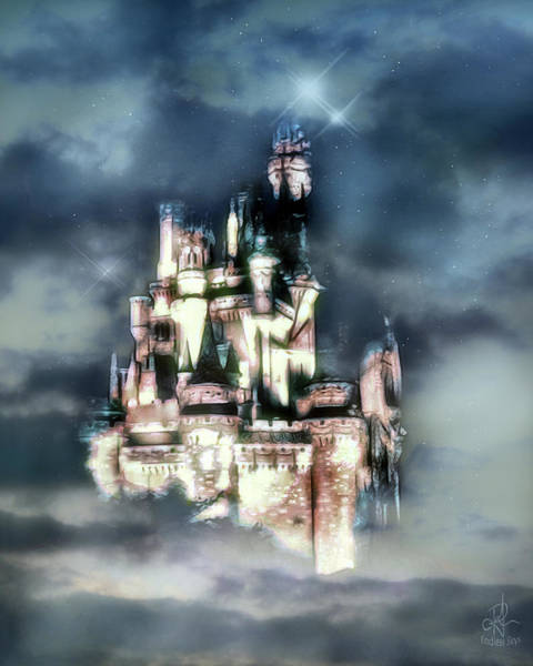Photograph - Castle In The Sky by Pennie McCracken