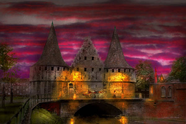 Photograph - Castle - Meet Me By The Rabot Sluice by Mike Savad