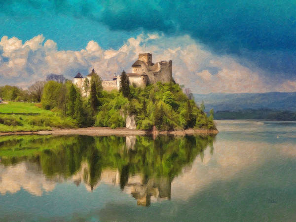 Painting - Castle Niedzica - Pol905943 by Dean Wittle