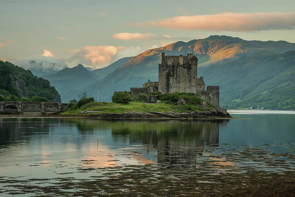 Wall Art - Photograph - Castle Obn The Lake by Christian Heeb