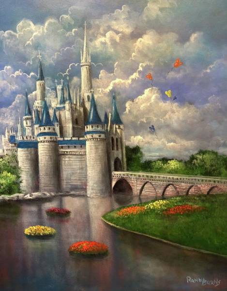 Wall Art - Painting - Castle Of Dreams by Randy Burns