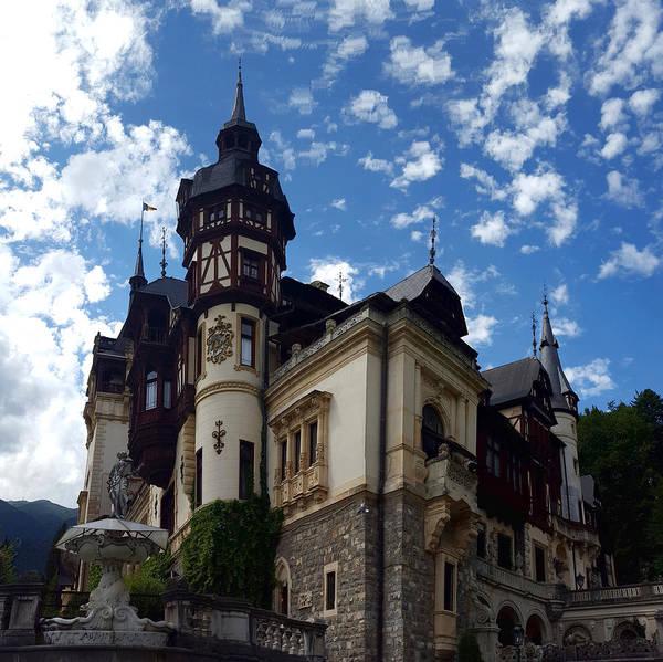 Pele Digital Art - Castle Peles In Romania by Ambasador