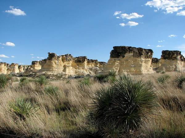 Photograph - Castle Rock Badlands by Keith Stokes