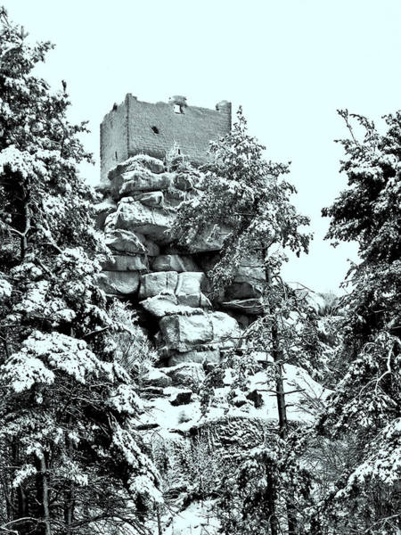 Photograph - Castle Ruin Flossenbuerg by Juergen Weiss
