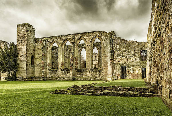 Photograph - Castle Ruins by Nick Bywater