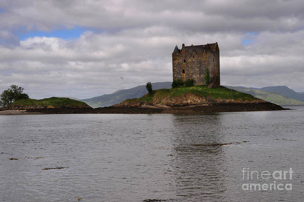Castle Photograph - Castle Stalker by Smart Aviation