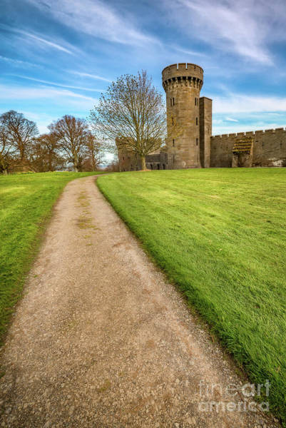 Fortification Photograph - Castle Tower by Adrian Evans