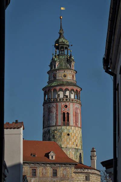 Photograph - Castle Tower Cesky Krumlov - Czechia by Stuart Litoff