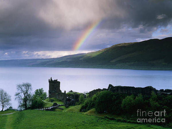 Wall Art - Photograph - Castle Urquhart On The Shore Of Loch Ness by Jeremy Woodhouse