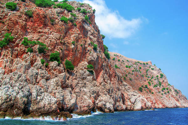 Photograph - Castle Wall Of Alanya by Sun Travels