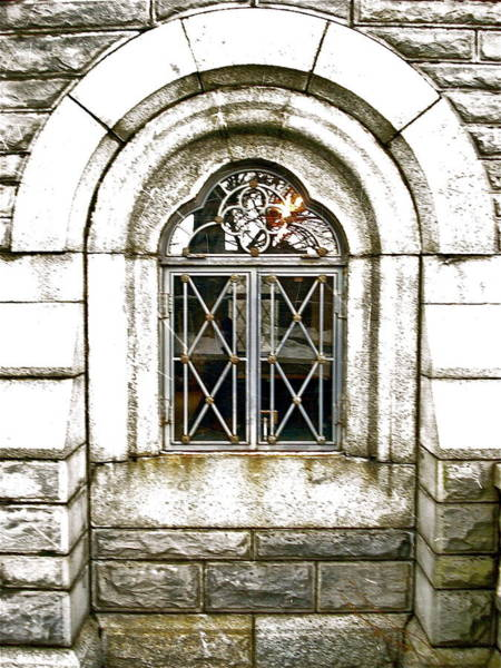 Photograph - Castle Window by Felix Zapata