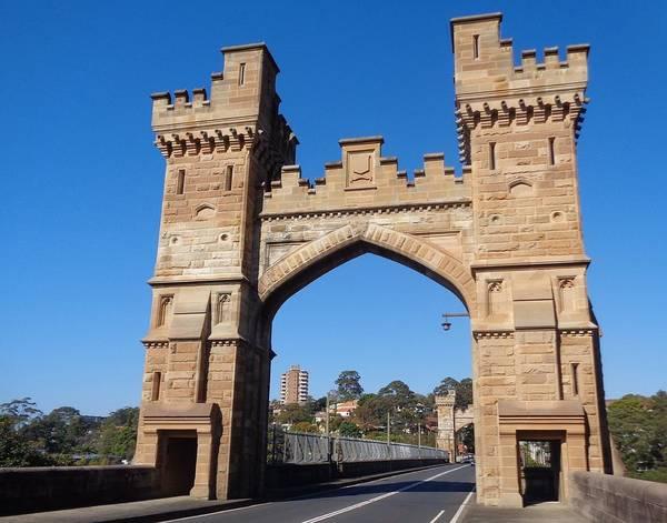Photograph - Castlecrag Bridge  -  My Snapshot - Nfs by VIVA Anderson