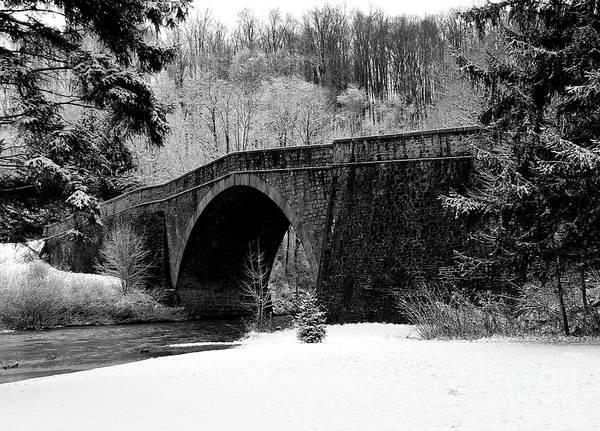 1755 Photograph - Castlemans River Bridge by David Bearden