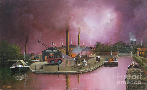 Painting - Castlemill Yard by Ken Wood