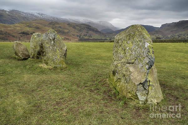 Circle Photograph - Castlerigg Stone Circle by Smart Aviation