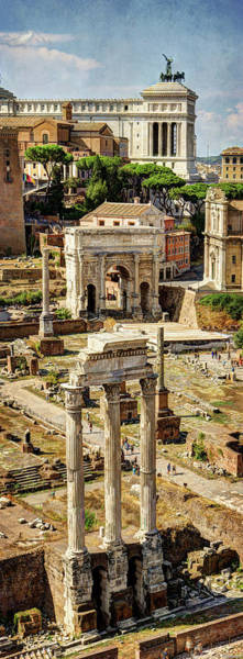 Photograph - Castor And Pollux  At The Forum Revisited by Weston Westmoreland