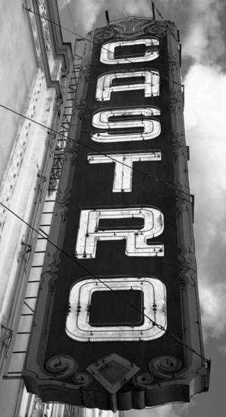 Bisexual Photograph - Castro District Sign - San Francisco - B W by Daniel Hagerman