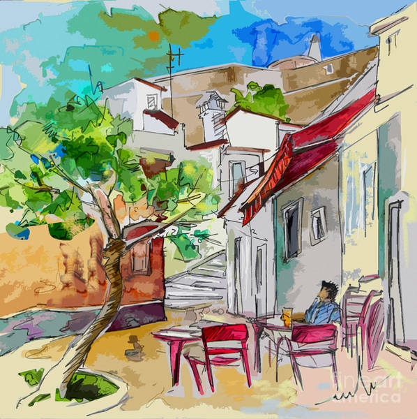 Wall Art - Painting - Castro Marim Portugal 01 Bis by Miki De Goodaboom