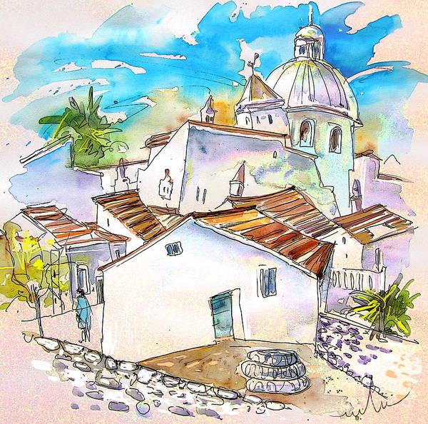 Wall Art - Painting - Castro Marim Portugal 05 by Miki De Goodaboom
