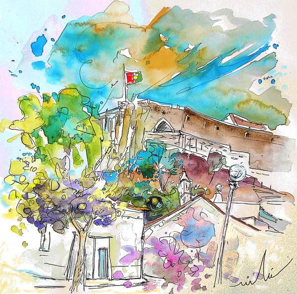 Wall Art - Painting - Castro Marim Portugal 10 by Miki De Goodaboom