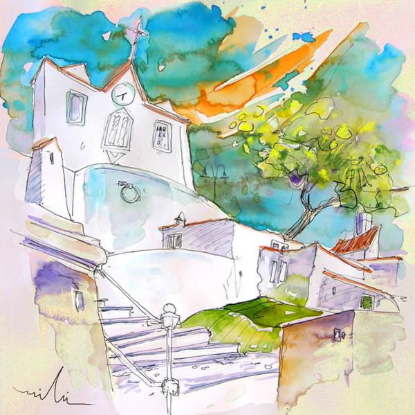 Wall Art - Painting - Castro Marim Portugal 17 by Miki De Goodaboom