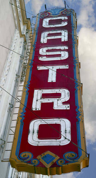 Lgbt Photograph - Castro District Sign - San Francisco by Daniel Hagerman