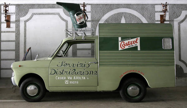 Photograph - Castrol Oil Truck by Andrew Fare
