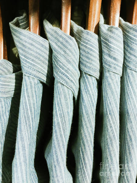 Dress Shop Photograph - Casual Men's Shirts by Tom Gowanlock