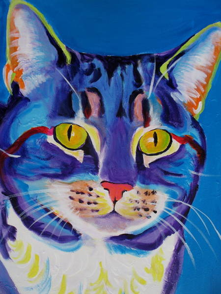 Painting - Cat - Lady Spirit by Alicia VanNoy Call