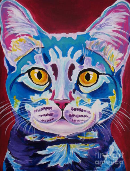 Painting - Cat - Mystery Reboot by Alicia VanNoy Call