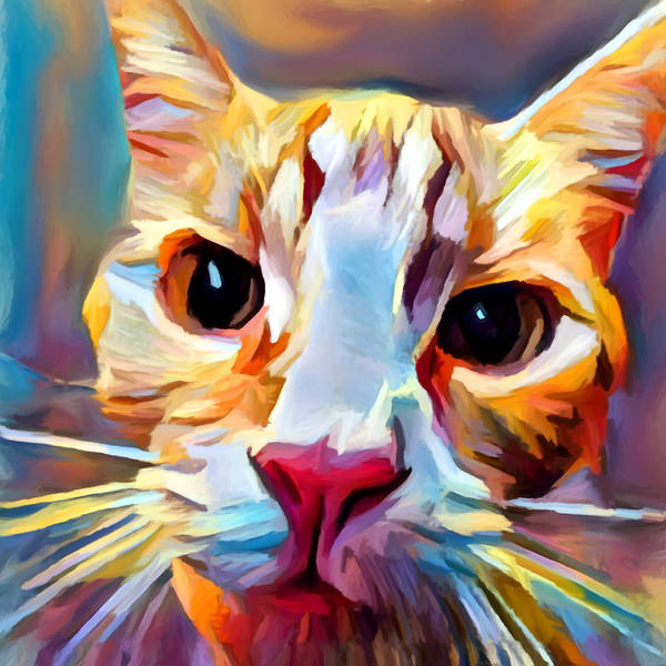 Wall Art - Painting - Cat 9 by Chris Butler