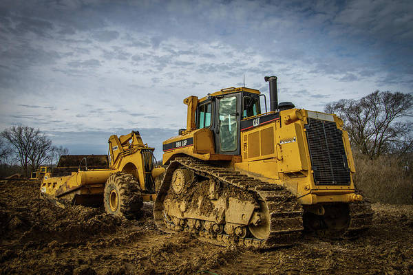 Heavy Duty Truck Wall Art - Photograph - Cat Construction by Mike Burgquist