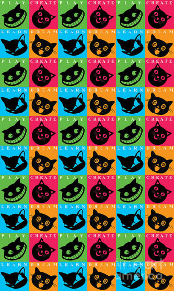 Hello Kitty Wall Art - Digital Art - Cat Mode by Naviblue