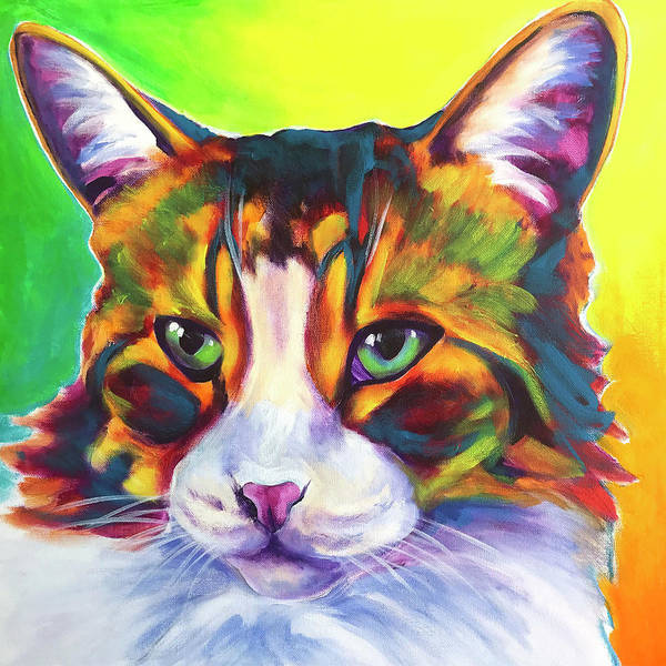 Painting - Cat - Tabby by Alicia VanNoy Call
