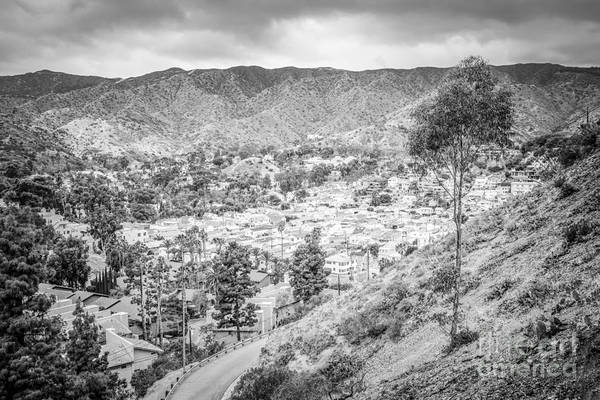 Wall Art - Photograph - Catalina Island City Of Avalon From Above by Paul Velgos
