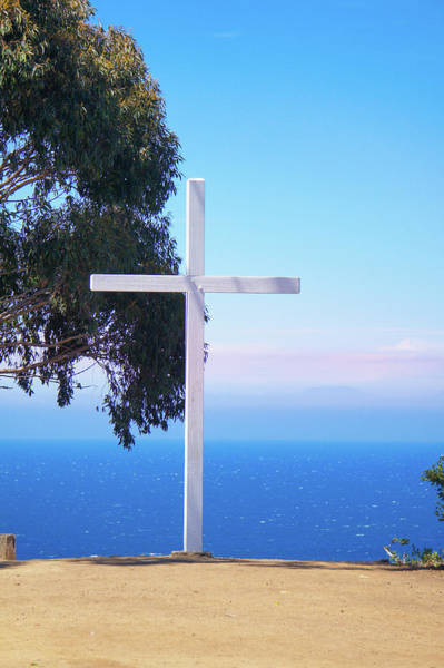 Wall Art - Photograph - Catalina Island Cross  by Art Spectrum