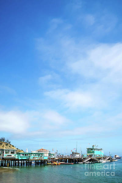 Wall Art - Photograph - Catalina Island Green Pleasure Pier Photo by Paul Velgos