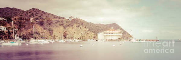 Avalon Wall Art - Photograph - Catalina Island Panorama Picture Of Avalon Bay by Paul Velgos