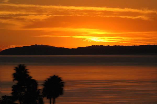 Laguna Beach Mixed Media - Catalina Sunset by Russell Pierce