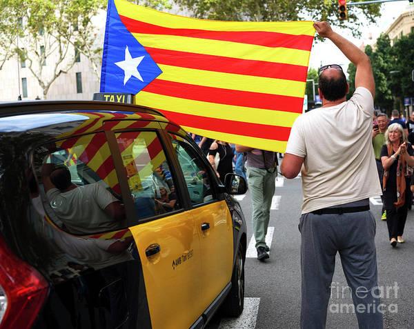 Photograph - Catalonia In Barcelona by John Rizzuto
