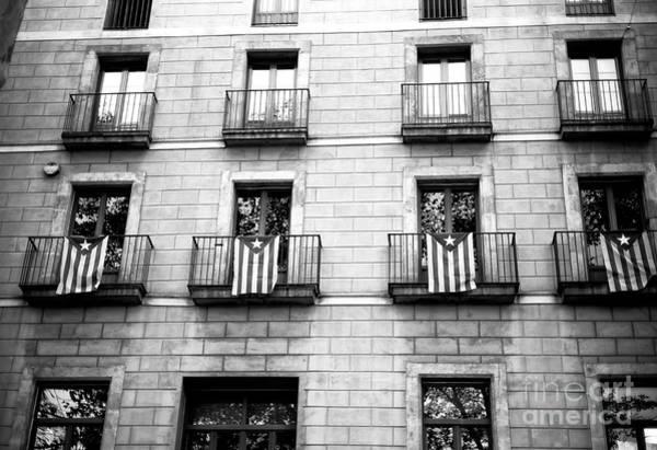 Photograph - Catalonia Pride On La Rambla Barcelona by John Rizzuto