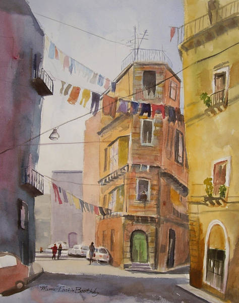 Catania - Blowing In The Wind Art Print