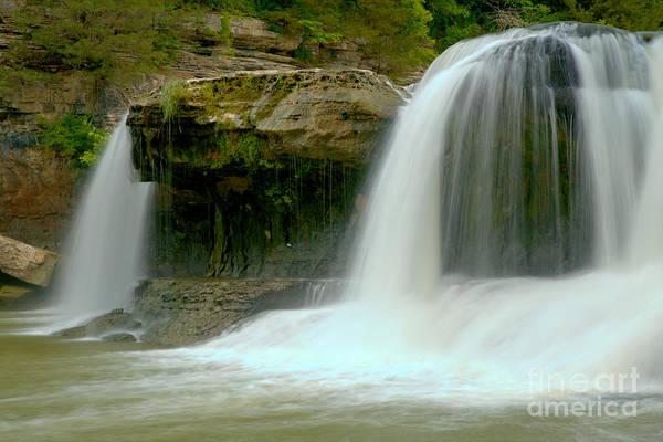 Photograph - Cataract Waterfall Ghosts by Adam Jewell
